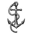anchor 1 vector image vector image