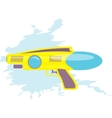 colorful water gun kids toy vector image vector image