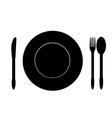Food symbol vector image