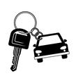 key of a car icon vector image vector image