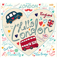London Background vector image vector image