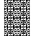 Monochrome symmetric seamless pattern with vector image