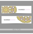 OrnamentalBanner vector image vector image