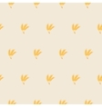 patterns and texture wheat ears vector image