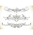 Swirl Floral Vintage Ornaments Decoration