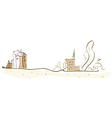 Townscape Sketch vector image vector image