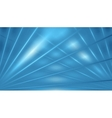 Blue abstract beams background vector image vector image