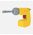 Builders tape measure symbol vector image
