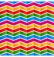 colorful chevron background pattern seamlessly vector image