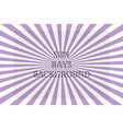 sun rays purple background spiral vector image