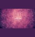 abstract purple light geometric polygonal vector image vector image