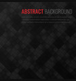 black background abstract geometric template vector image vector image