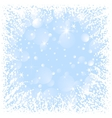 Gristmas frame vector image vector image