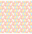 hand drawn stripes pattern background vector image
