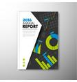 modern brochure report or flyer design template vector image