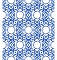 Pattern with Mediterranean Moroccan motifs vector image vector image