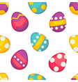 spring easter seamless pattern with vector image vector image