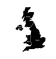 united kingdom aka uk of great britain and vector image vector image
