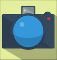 camera flat design vector image