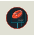 American Football logo and emblem vector image vector image