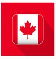 canada flag design vector image