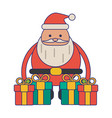 christmas season cartoons vector image
