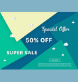 colorful sale background vector image vector image