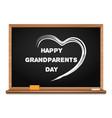 happy grandparents day chalkboard vector image vector image