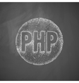 PHP icon vector image vector image