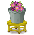 pot plant vector image vector image