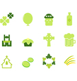 Saint patricks day icons vector | Price: 1 Credit (USD $1)