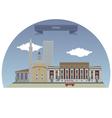 Tirana vector image vector image