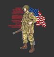 American world war soldier