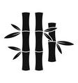 bamboo stick icon simple style