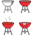 Barbecues Collection vector image