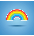 icon rainbow vector image vector image