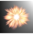 Light effect stars bursts EPS 10 vector image vector image