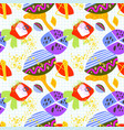 modern trendy seamless pattern abstract bright vector image vector image