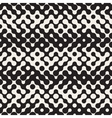 Seamless Black and White Halftone Pattern vector image vector image