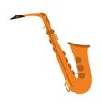 single saxophone icon vector image vector image