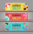Summer sale background for template design