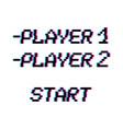 8 bit player vector image vector image