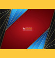 abstract background luxury golden frame on vector image vector image