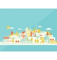 House set Asian city vector image vector image