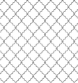Seamless metal lattice vector image vector image