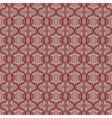 simple Moroccan pattern in organic brown vector image