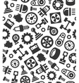Auto Car Spare Parts Seamless Pattern Background vector image