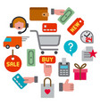 E-commerce shop icon