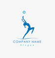 gymnastic design vector image