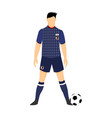 japan football jersey national team world cup vector image